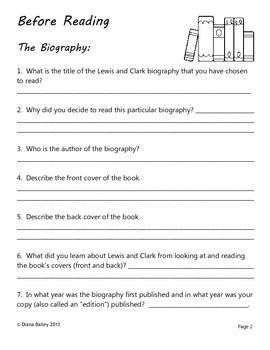 Lewis and Clark Guided Biography