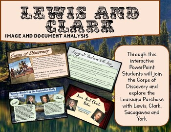 Lewis and Clark Image and Primary Source Analysis