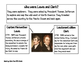 Lewis and Clark Information Packet