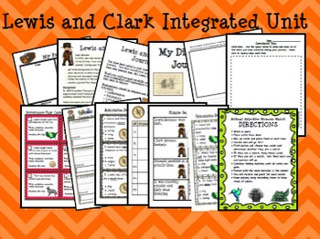 Lewis and Clark Integrated Unit:  Over 100 Pages of Projects and Activities!