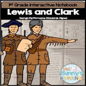 Lewis and Clark Interactive Notebook (Georgia Performance Standards)