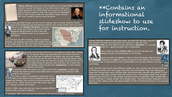 Lewis and Clark US History Unit