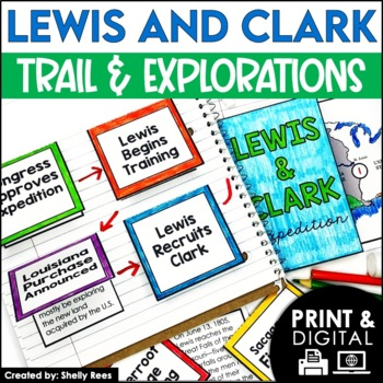 Lewis and Clark - Interactive Notebook & Mini Unit