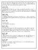 Lewis and Clark Journal Entries Worksheet with Map and Answer Key