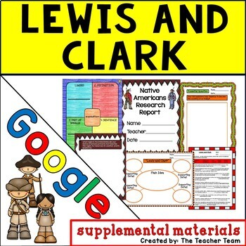 Lewis and Clark Journeys 5th Grade Unit 5 Google Drive Resource