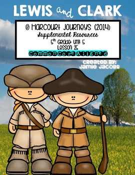 Lewis and Clark (Journeys 5th - Supplemental Materials)