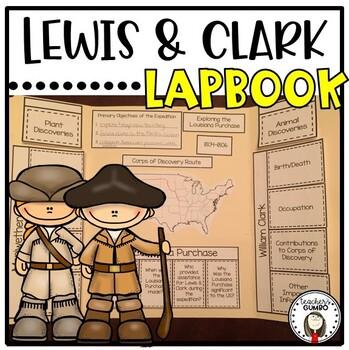 Lewis and Clark Lap Book