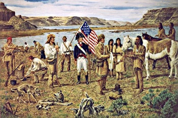 """Lewis and Clark, """"Over The Continental Divide"""", A Re-enactment!"""