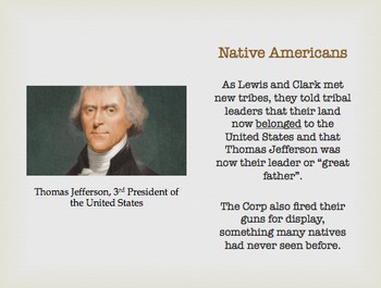 Lewis and Clark: Powerpoint and Organizer