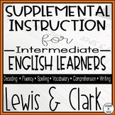 Lewis & Clark Expedition Worksheets - English Learners