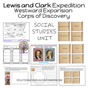 Lewis and Clark Social Studies, Science, Literacy Unit