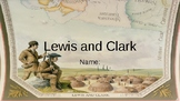 Lewis and Clark Student Vocab Slides