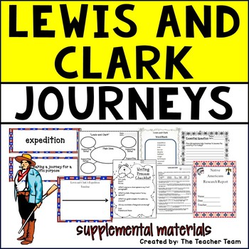Lewis and Clark Journeys 5th Grade Unit 5 Lesson 25 Activities and Printables