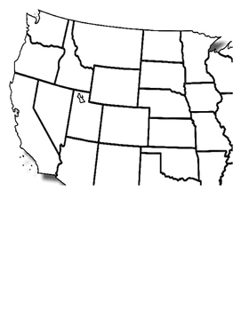 Lewis and Clark -  Timeline Map