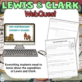 Lewis and Clark Internet Scavenger Hunt Activity