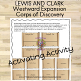 Lewis and Clark, Westward Expansion, Corps of Discovery Ac