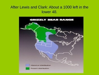 Lewis and Clark and Grizzlies Powerpoint