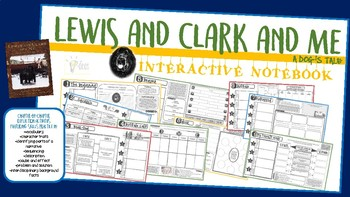 Lewis and Clark and Me Interactive Notebook