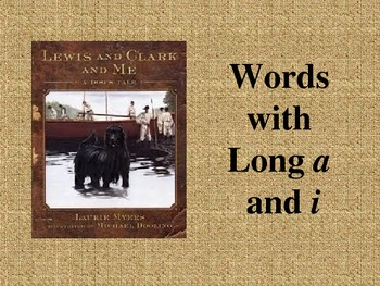 Lewis and Clark and Me: Spelling PowerPoint