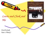 Lewis and Clark and Me Vocabulary PowerPoint