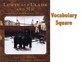 Lewis and Clark and Me Vocabulary Square PowerPoint