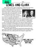 Lewis and Clark biography mini