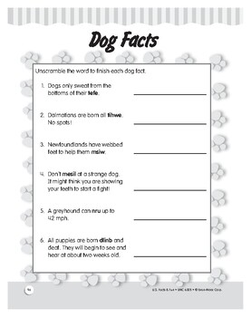 Lewis and Clark's Discovery Dog: History and Reading Unit for Grades 1–3