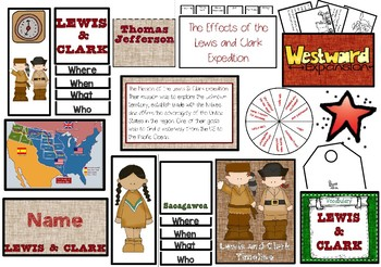Lewis and Clark Interactive Craftivity Mat