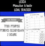 Lexia Goal Tracker
