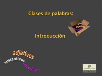 Lexical Categories (Spanish) - Categorías Léxicas (Español)