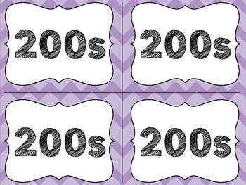 Purple Classroom Library Labels with Lexile Levels - for your book baskets