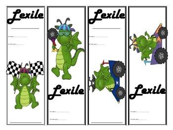 Lexile Bookmark Bundle
