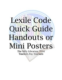 Lexile Codes Quick Guide for Library, Classroom, Parents
