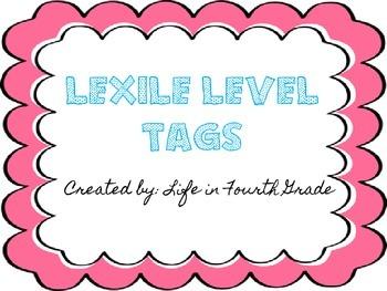 Lexile Level Tags
