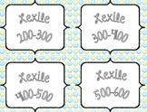 Lexile Levels Library Labels