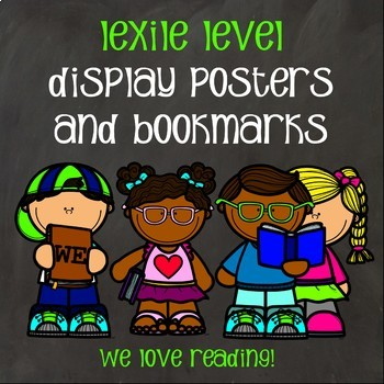 Lexile Posters And Bookmarks By Molly S Media Center Magic And More