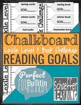 Lexile and Book Challenge Reading Goals