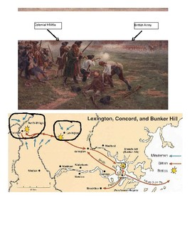 Lexington and Concord Activity