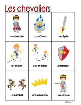Lexique - Les chevaliers