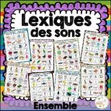 Lexiques des sons - Ensemble