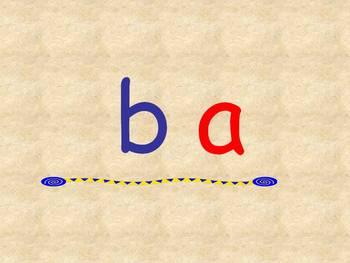 Leyendo Silabas de B, L, F