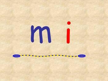 Leyendo Silabas de M, P, S