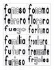 Leyendo Sílabas (syllable cards) COMPLETE SET