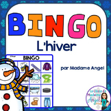 L'hiver:  Winter Themed Bingo Game in French