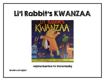 Li'l Rabbit's Kwanzaa Shared Reading