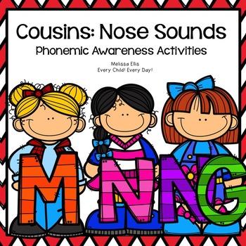 LiPS Phonemic Awareness Supplemental Activities BUNDLE:  The Cousins