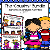 Phonemic Awareness Supplemental Activities BUNDLE:  The Cousins