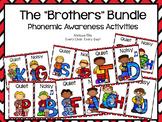 Lips Phonemic Awareness Supplemental Activities BUNDLE:  The Brothers