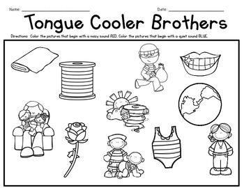 Phonemic Awareness Activities: Tongue Cooler th