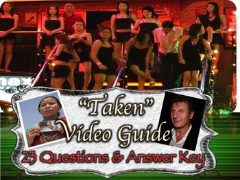 """""""Taken"""" Video Guide with Patricia's McCormick's Sold"""